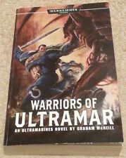 Graham McNeill WARHAMMER 40,000 40K Warriors of Ultramar (paperback)