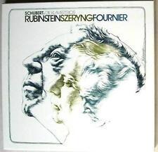 SCHUBERT: 2 piano trios   Rubinstein Szeryng Fournier / RCA Germany stereo VG-