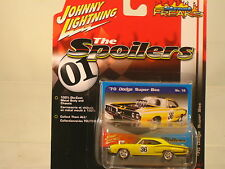 "1970 DODGE SUPER  BEE by Johnny Lightning= ""The Spoilers"" 1:64 scale  NEW ITEM"