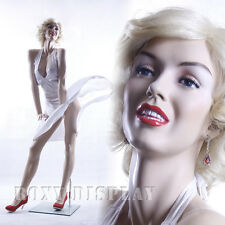Female Fiberglass Display Mannequin Manikin Manequin Dummy Dress Form MZ-MONROE1