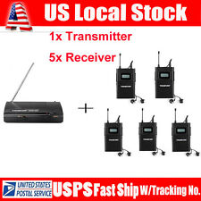 Takstar WPM-200 Wireless In-Ear Stage Monitor System 1 Transmitter+5 Receiver US
