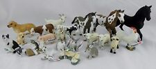 NEW! Schleich Farm Animal LOT! HORSE FOAL DOG COW PIG SHEEP GOAT RABBIT ROOSTER
