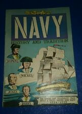 Navy HIstory and Tradition 1772-1778 (1958) army military air force comics lot