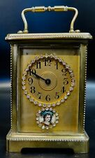 Vintage 19th Century French Carriage Clock