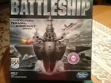 NIB BATTLESHIP BY HASBRO 2012 THE CLASSIC NAVAL COMBAT GAME AGES 7 +