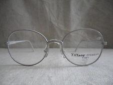 Vintage gray Tiffany eyeglasses frame