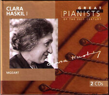 Clara HASKIL 1: GREAT PIANISTS OF THE 20TH CENTURY 2CD Mozart 5 Piano Concerto