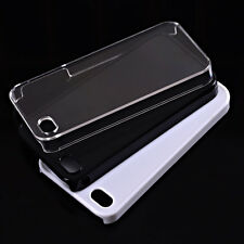 3pcs/lot White / Black / Clear Blank Flat Case for iPhone 5
