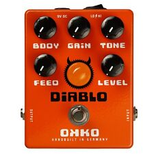 OKKO FX Effects Diablo Overdrive Distortion Guitar Pedal Brand New