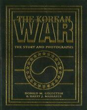 The Korean War: The Story and Photographs (America Goes to War)-ExLibrary