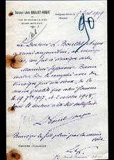 """SULLY-sur-LOIRE (45) MEDECINE """"Docteur Léon BOULLET-ARQUE"""" en 1919"""