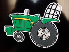 """John Deere"" PULLER JD Fans Original Artwork DECAL/STICKER ""Tractor Swag Series"""
