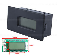 18650 26650 Lithium Li-ion Battery Tester LED Voltage Current Capacity LCD Meter