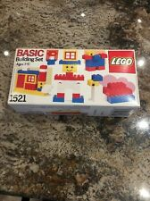 Lego Basic Building Set 1521 New Sealed Rare