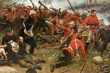 Anglo Zulu War The Defence of Rorke's Drift (Detail) Art Print 7x5 inches