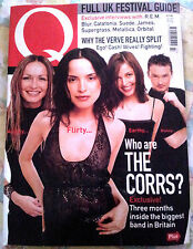 Q Magazine July 1999 The Corrs, The Verve, Jamiroquai, R.E.M, Metallica