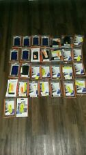 LOT 30 GRIFFIN CELL PHONE APPLE blue IPOD TOUCH FLEX GRIP LEATHER PASSPORT CASE