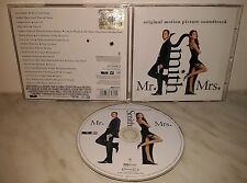 CD MR & MRS SMITH - ORIGINAL MOTION PICTURE SOUNDTRAC
