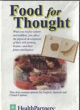 HealthPartners Food for Thought DVD, 1997 Benefits of Reading to Young Children