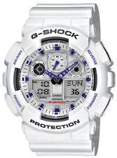 Casio Uhr Herren G-Shock Oversized GA-100A-7AER weiss