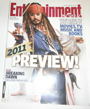 Entertainment Weekly Magazine Johnny Depp & Breaking Dawn January 2011 071314R