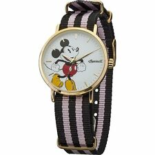 Disney By Ingersoll Mens Classic Micky Mouse Watch DIN009GDPK