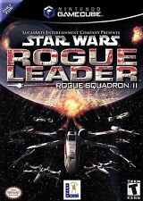 Star Wars Rogue Leader Nintendo Gamecube Game Complete