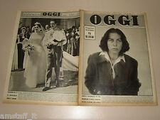 OGGI=1950/16=PIA BELLENTANI=BENEDETTO CROCE=VITA HITLER FUHRER=CARMENCITA FRANCO