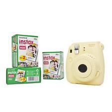 Fuji Instax Mini 8 mit Film 60 Bildern gelb Fujifilm Sofortbildkamera Instant