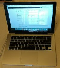 "Apple MacBook Pro A1278 13"" Laptop 2.26GHz Core 2 Duo 120GB SSD 8GB NVIDIA"