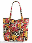 "VERA BRADLEY~AUTHENTIC~""VERA"" EXTRA LARGE TOTE BAG~BITTERSWEET~NEW WITH TAG!"