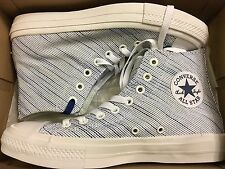 NEW CONVERSE ALLSTAR CT 2 II HI WHITE KNIT SNEAKER 151085C SIZE MEN 7 WOMEN