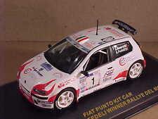 Ixo 1/43 Diecast Fiat Punto Kit Car, Winner 2001 Rally del Moise, #1  #RAM017
