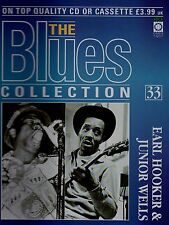The Blues Collection magazine Vol 33 Earl Hooker & Junior Wells