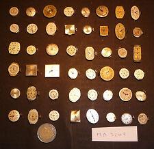 LOT de 48 MECANISMES DE MONTRES POUR PIECES DETACHEES - MA3208