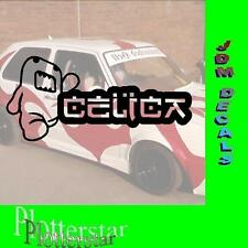 Domo Celica JDM Sticker Adhesivo OEM Power Fun like Shocker Dub