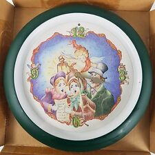 Christmas Carol Wall Clock Feldstein Musical Carolers Hourly New