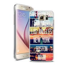Coque Housse Samsung Galaxy S 7 + Verre Trempé 9 H - Motif Midley Amerique