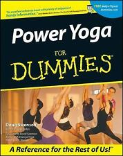Power Yoga for Dummies EXERCISE HEALTH FITNESS NEW BOOK, NEVER USED, NO MARKS
