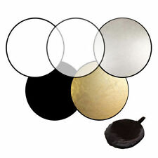60cm 80cm 5in1 Photography Studio Light Mulit Collapsible disc Reflector IT
