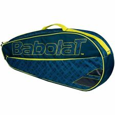 Babolat Clubline 3 Racchetta tennis Borsa blu giallo ideale per da viaggio,