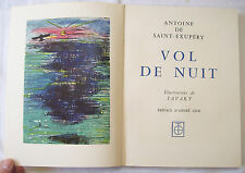 SAINT EXUPERY / VOL DE NUIT / illustrations de SAVARY / ROMBALDI