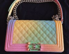 LimitedEdition The Standout BAG OF CHANEL CUBA CRUISE 2017 Sold Out Rainbow