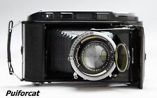 Voigtlander Bessa Rangefinder Braunschweig Heliar 3.5/105 Camera c. 1939