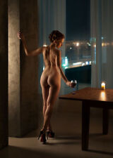 Sexy Nude Picture Photo of Woman Girl Female Classy Photograph