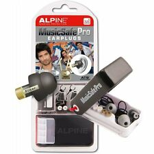 Alpine MusicSafe Pro filtered Music Safe Ear Plugs Hearing Protection Black BNIB