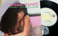 """DONNA SUMMER - THERE GOES MY BABY - 45 GIRI 7"""" - SPAIN PRESS"""