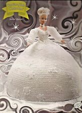 Snow Queen FAIRY TALE Collection Annies Barbie Fashion Doll Crochet Pattern