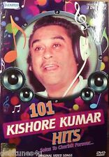 101 KISHORE KUMAR HITS - BOLLYWOOD MUSIC 3 DVD SET - FREE POST