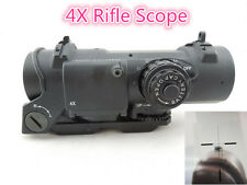 Rifle Scope Specter DR 4X Fixed Dual Role Optic Tactical Airsoft Sniper Scopes